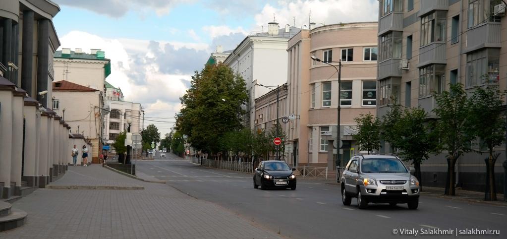 Прогулка по центральным улицам Казани, Татарстан 2020
