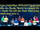 [Live streaming] Gala Chinh Phục 2017 Tuần 6: cũng với sự xuất hiện của các cựu thí sinh Chinh Phục