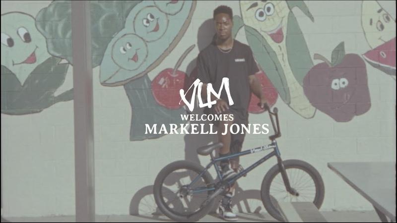 VOLUME BMX Welcome MARKELL JONES