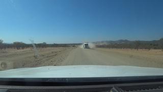 meeting chuck norris in the kaokoveld D 3700 Namibia
