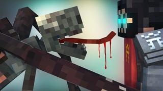ЗОВ БЕЗДНЫ 5 Серия БОЙ С НЕЧИСТЬЮ Minecraft Animation