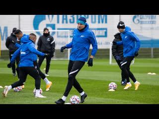 «Зенит» — «Боруссия»: открытая тренировка
