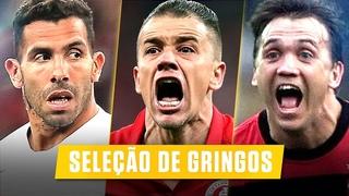 Os Melhores GRINGOS da HISTÓRIA do Futebol Brasileiro