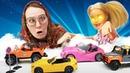 Кукла Барби и Баба Маня - приключения во сне и наяву. Веселые видео про кукол для девочек