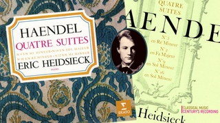 Handel - 8 Keyboard Suites / New Mastering (Century's recording: Eric Heidsieck 1959-64)