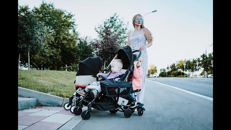 Bumprider Connect обзор компактной коляски для 1 2 и даже 3 детей от Юлии Коляскиной