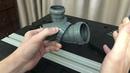 Поворотные сантехнические отводы MIANO, диаметры - 50 и 110 мм