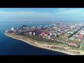 Анапа - Апрель 2019 года. Аэросъёмка Анапы. Высокий берег, Тургеневский спуск.