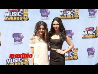 Laura Marano & Vanessa Marano Radio Disney Music Awards 2014 Red Carpet #RDMA