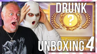 CS:GO DRUNK KNIFE UNBOXING WITH PAPA 4