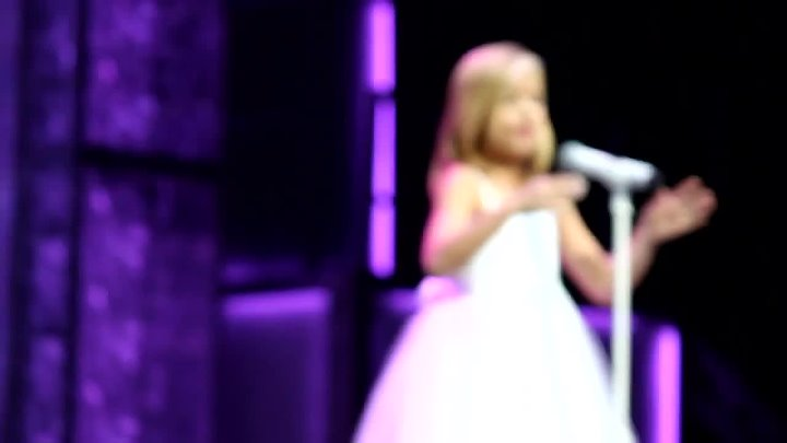 Jackie Evancho sings O Mio Babbino Caro Pie Jesu in Boston on AGT Nov 3, 1010