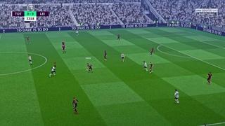 FIFA 21 Realistic sliders: Spurs vs Leicester city 4K S1 EP18 GFX MOD