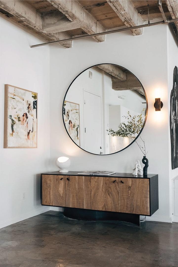 Брутальный лофт с мягкими акцентами в Лос-Анджелесе