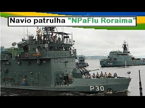 Navio Patrulha Fluvial NPaFlu Roraima P 30, Marinha do Brasil