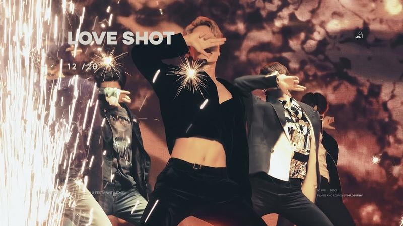 181220 0 X FESTA with EXO Love Shot KAI 3 Angles Mixed