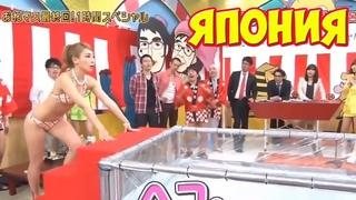 Самые дикие японские телешоу! Часть 4 Что вытворяют японцы по телику... Японские шоу и пранки.