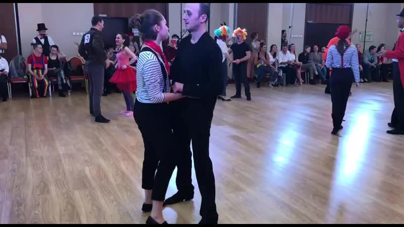 Александр Пчелкин Анастасия Бабахан Strictly Open Prelims MWF 2019