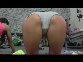 Alexis Crystal, Lexi Dona, Shrima Malati - Fit sexy lesbian gym threesome Lesbian, Gym, Sports Fantasies, Theeesome, 1080p