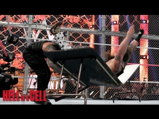 (WWE Mania) Hell in a Cell 2015 Roman Reings vs Bray Wyatt (Hell in a Cell Match)