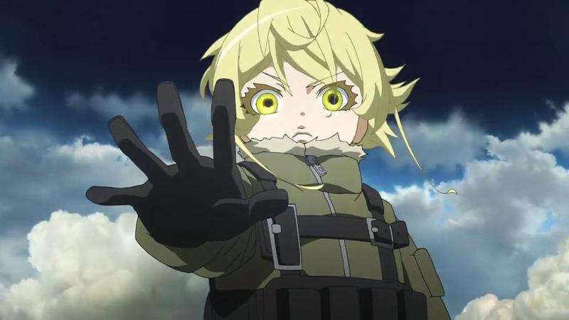 Военная хроника маленькой девочки Youjo Senki AMV