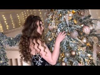Новогодний видео-портрет. Ксения Саватеева