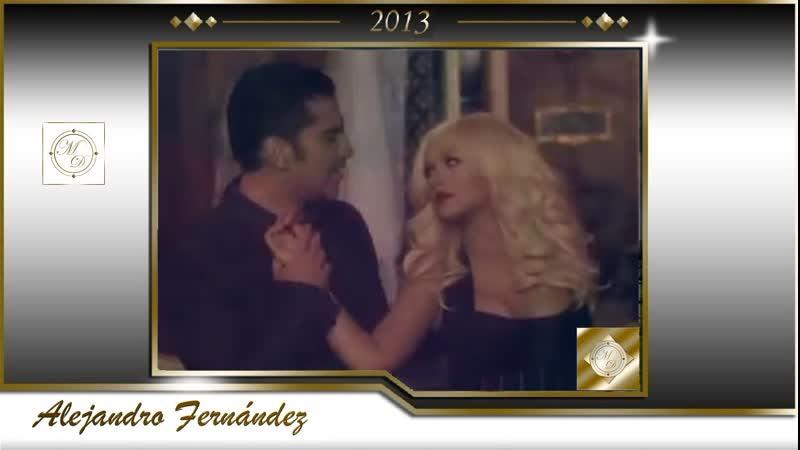 Alejandro Fernández - Hoy Tengo Ganas De Ti ft. Christina Aguilera (Video Oficia
