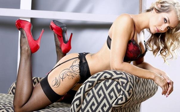 Sandra In Leopard Print Tattoo Girls Pornvibe 1