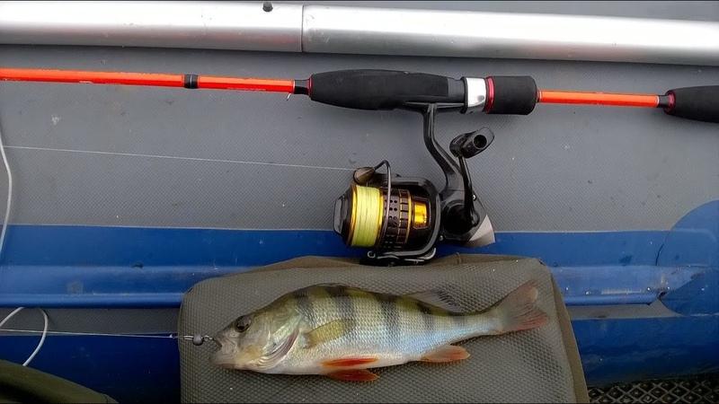 ГОНЯЕМ ПОЛОСАТЫХ Рыбалка в конце лета на озере