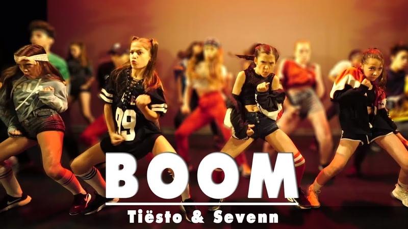 Tiësto Sevenn BOOM Street Dance Kids Choreography Sabrina Lonis