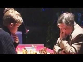 Carlsen Stomps Karpov's Petroff Defense (Magnus Carlsen vs Anatoly Karpov)