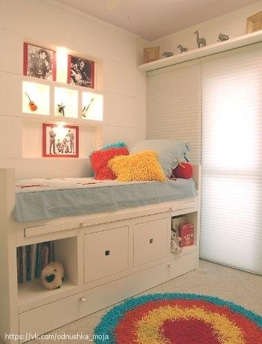 Детский уголок Вариант для малометражных квартир