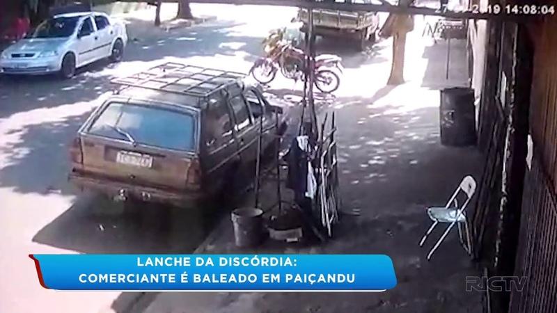 Comerciante é baleado por causa de duas salsichas em Paiçandu