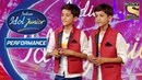 Twins Deliver Their Best Sync On 'Wo Lamhein' | Indian Idol Junior 2
