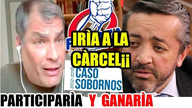 INAUDITO¡¡ CORREA LA Sentencia del CASO SOBORNOS ya esta LISTA y Redactada FUT Critica a LENIN
