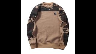 Мужские толстовки с камуфляжным принтом, мужские пуловеры в стиле хип хоп, толстовка с длинным рукавом, осень 2020, мужские