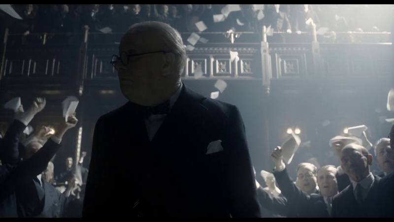 Darkest Hour - We shall fight them on the beaches