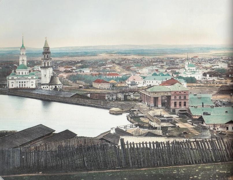 Первозданная железнодорожная Россия в цвете эпохи царской Империи глазами неизвестного фотографа, изображение №4