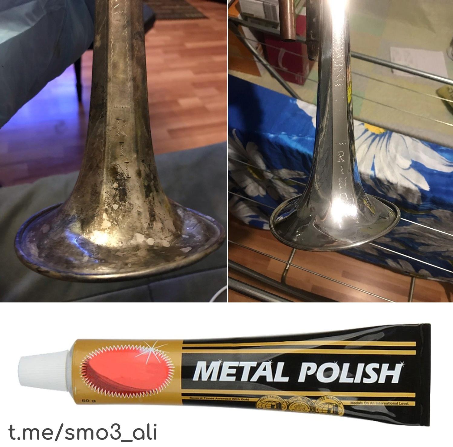 Паста для полировки металла -