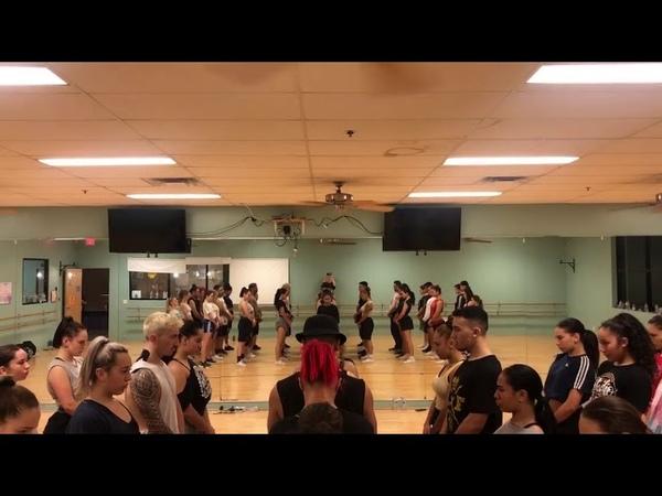 Royal Family HHI Rehearsal