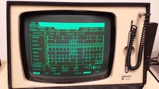 Fairlight CMI Series I Playing Frogman Demo by Mars Lasar