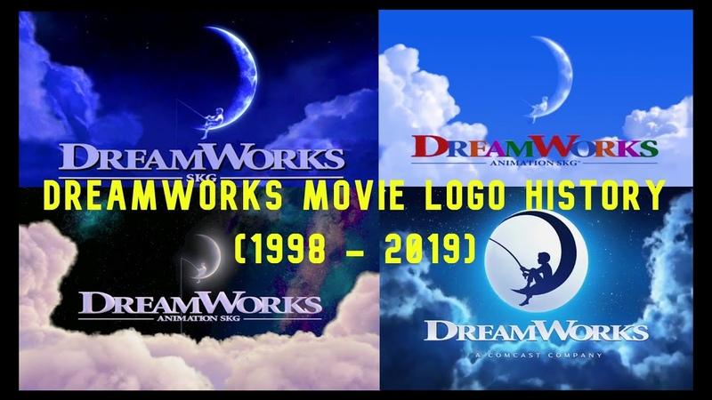 DreamWorks Animation Logo Movie History 1998 2019