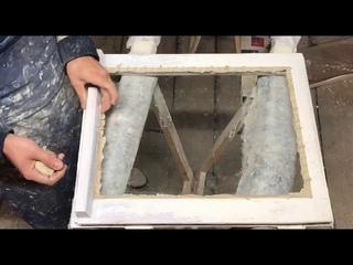 Как правильно застеклить старое окно. Лучший материал для реставрации окон. Китт. Замазка для окон