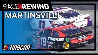NASCAR * Blue-Emu Maximum Pain Relief 500 * Martinsville Speedway * Лучшие моменты гонки