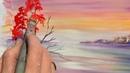Правополушарное рисование — видео урок «Осенний пейзаж». Экспресс-урок от арт-студии «Живые картины»