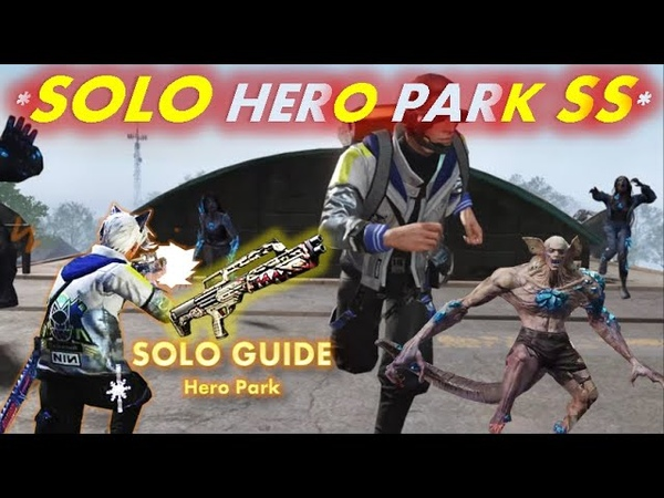 LifeAfter Hero Park Solo SS How to Solo Guide with KSG 94 Solo Rifleman GUIDE 1st Boss Bug
