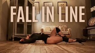 FALL IN LINE - Christina Aguilera ft Demi Lovato/STRIP DANCE CHOREO