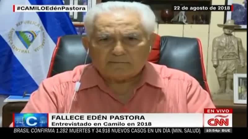 Edén Pastora habló así de sus asesinatos y su polémica respuesta a un cardenal online video