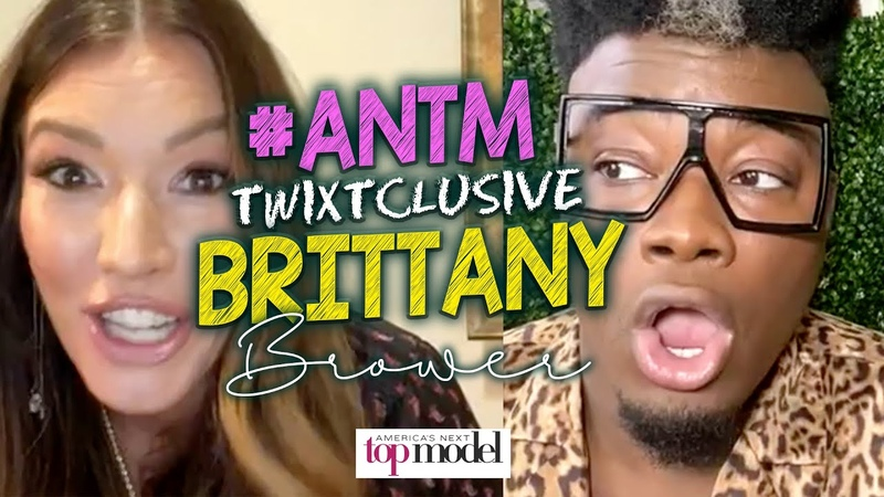 ANTM Cycle 4 17's Brittany on BTS Moments with Janice Dickenson Being Mad with Shannon Stewart
