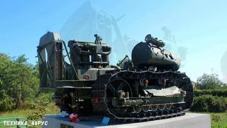Трактор С-60 Сталинец простоял под землей 74 года. Крым. Трактор - памятник