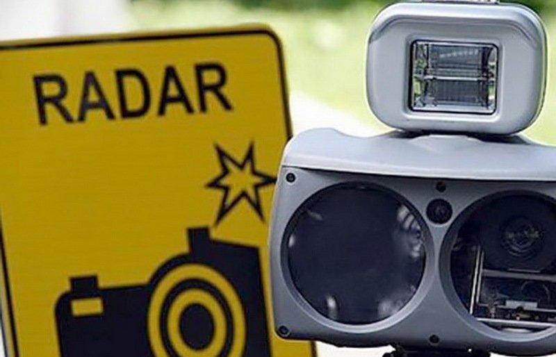 Планируемые места установки датчиков контроля скорости с 29 апреля по 1 мая 2020 года